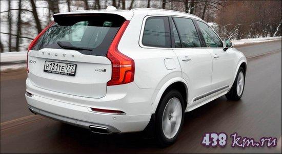 rand Cherokee и Volvo XC90