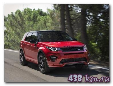 Land Rover Discovery sport 2016: тест драйв