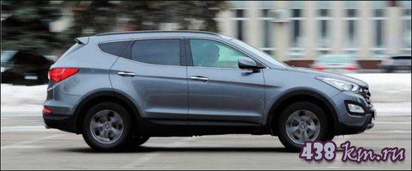 подержаный Hyundai Santa Fe