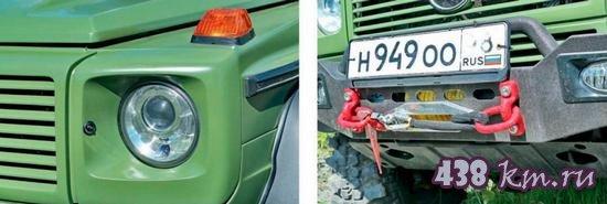 Тюннинг и реставрация Mercedes-Benz Gelandewagen