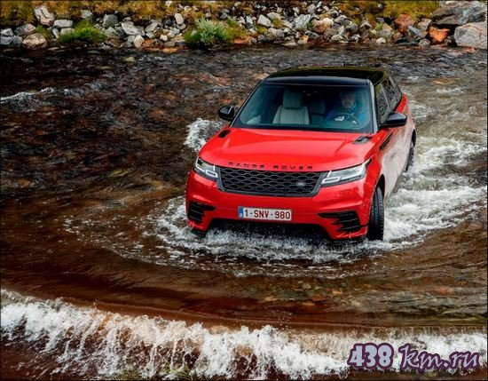 Обзор нового Range Rover Velar