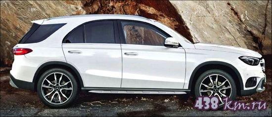 Обновленный Gle Mercedes