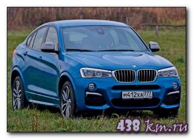 BMW X4 M40i - цена и характеристики, фотографии и обзор