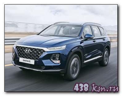 Новый Hyundai Santa Fe необычный подход и дизайн