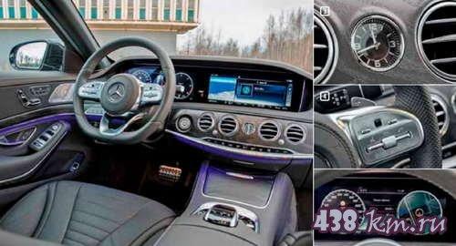 Audi А8 против Mercedes-Benz S-class сравнение