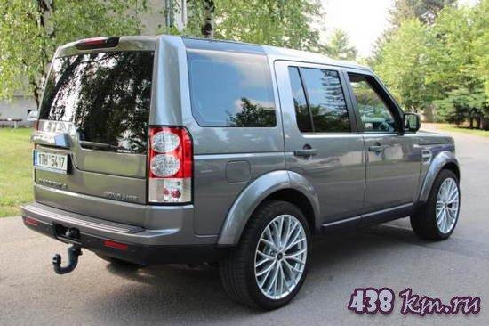 Land Rover Discovery 4 описание, характеристики, фото,цена