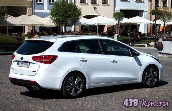 Kia ProCeed GT тест-драйв, характеристики, фото, цена