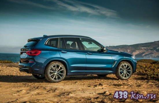 BMW X3 2019 года